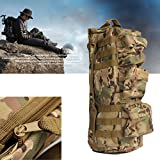 ELEGIANT Portable Nylon Outdoor Military Tactical Rucksack Backpack Hiking Sports Camping Shoulder Bag Camouflage