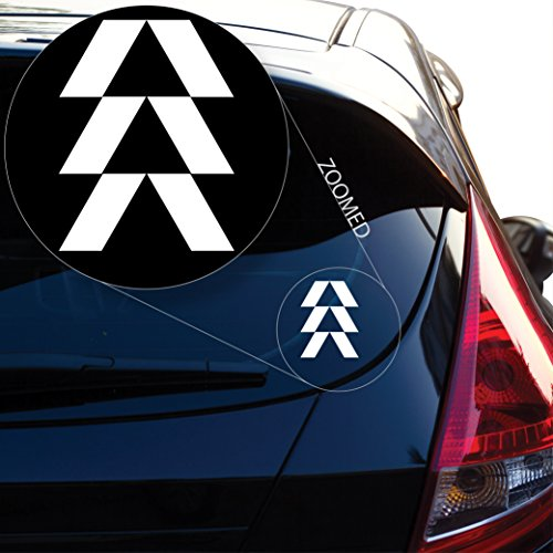 5.5 inches Hunter Destiny Vinyl Decal Sticker Destiny Dead for Car Window Laptop Room Black