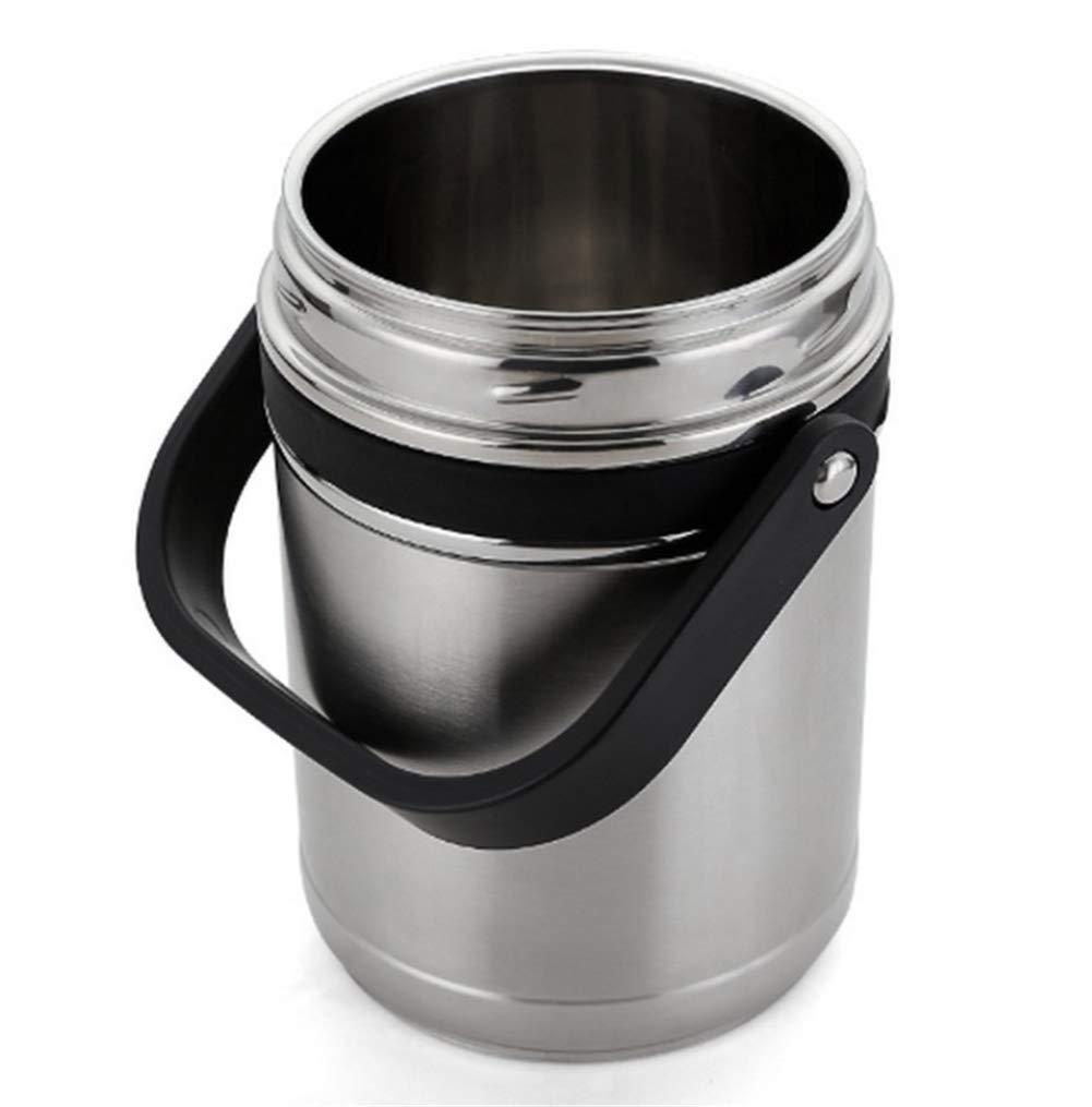 R/écipient Alimentaire Isotherme Acier Inoxydable Lunchbox Thermos Convient Aux Adultes comme Aux Enfants Coupe Pliante Gratuite,1.8L Bo/îte Alimentaire Isotherme BWTFAN Thermos Alimentaire Chaud