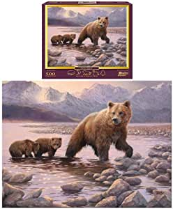 Puzzle: Grizzly Family