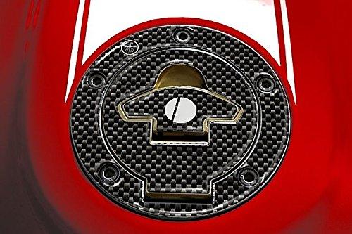 Protection Bouchon R/éservoir /à Carburant Adh/ésifs R/ésine 3d Carbone Moto Ducati