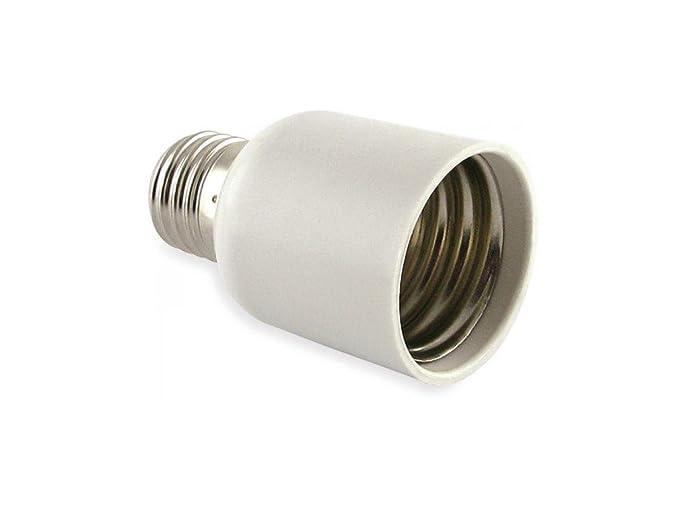 Adaptador E27 - E40 solo para bombillas LED y fluorescentes