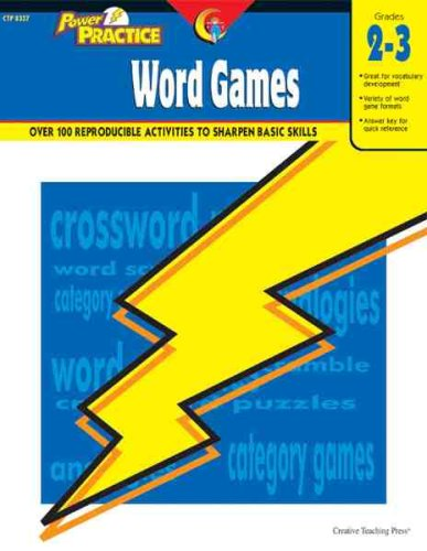 [PDF] Power Practice: Word Games, Gr. 2-3 Free Download | Publisher : Creative Teaching Press | Category : Languages | ISBN 10 : 1591981093 | ISBN 13 : 9781591981091