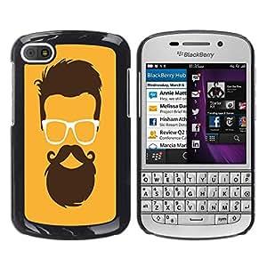 Dragon Case - FOR BlackBerry Q10 - Zeal without knowledge - Caja protectora de pl??stico duro de la cubierta Dise?¡Ào Slim Fit