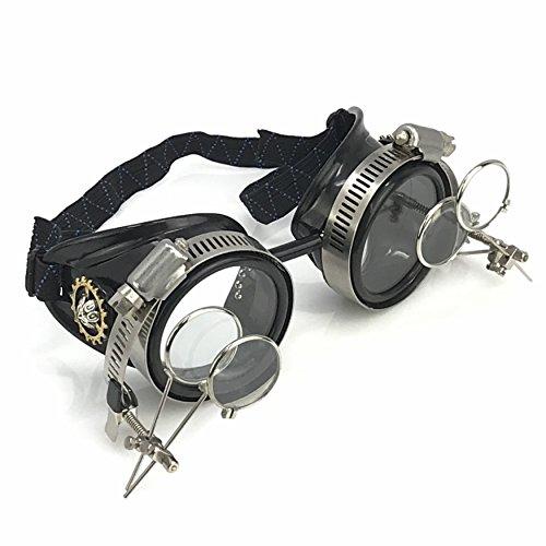 Steampunk Victorian Goggles welding Glasses ()