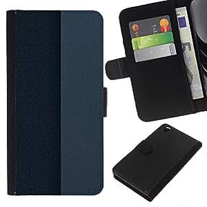 EJOY---La carpeta del tirón la caja de cuero de alta calidad de la PU Caso protector / HTC DESIRE 816 / --Simple patrón de 25