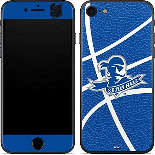 Skinit Decal Phone Skin for iPhone 8 - Officially Licensed College Seton Hall Zoomed Basketball Design