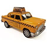NYC Taxi in Yellow Cab with Pullback Action, Die