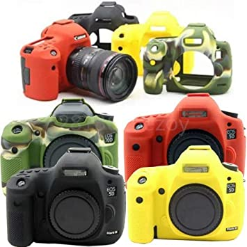 4 Colors Silicone Case Cover Skin Protector For Canon EOS 800D Camera