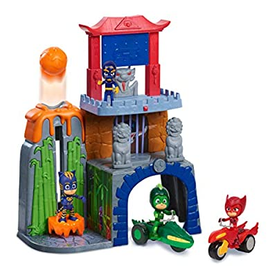 PJ Masks Mystery Mountain Playset - brown mailer: Toys & Games