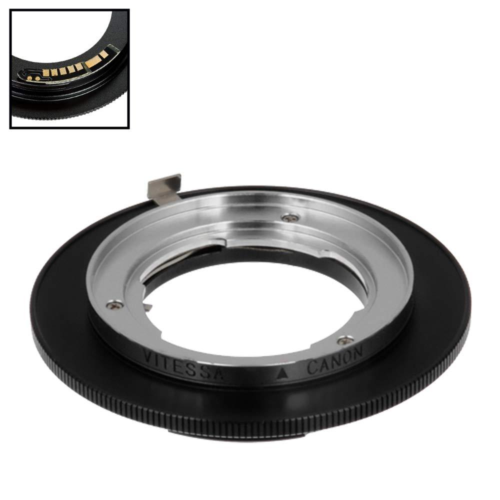 Mount SLR Camera Body EF, EF-S Fotodiox Pro Lens Mount Adapter Nikon Nikkor F Mount D//SLR Lens to Canon EOS