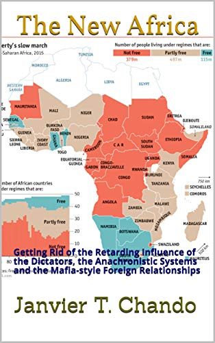 New Africa Map.Amazon Com The New Africa Getting Rid Of The Retarding Influence