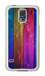 Samsung S5 Case,VUTTOO Samsung S5 Cover With Photo: Colorful World For Samsung Galaxy S5 / Galaxy SV / Galaxy S V - PC White Hard Case