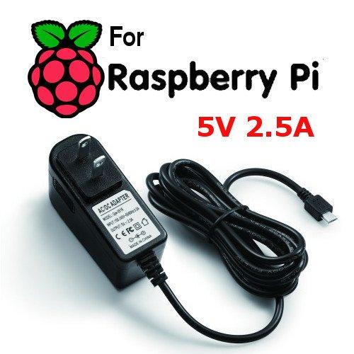 SaharaMicro SMI Raspberry Pi 3 Powered KODI Home Media Center 8GB, HDMI, WiFi, Black ABS Case, 5V 2.5A Power, MINI Wireless Keyboard KIT by SaharaMicro (Image #6)