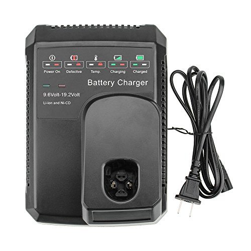 Dosctt 9.6V to 19.2V Battery Smart Charger for Craftsman 19.2 Volt Battery C3 DieHard NiCD NiMH Lithium 130279005 1323903 11375 11376 315.115410 315.11485 by Dosctt
