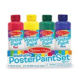 Melissa & Doug Poster Paint Set of 4 Arts and Crafts-Supplies