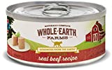 Whole Earth Farms Grain Free Receipe, 5 oz, Beef, 24 Count Review
