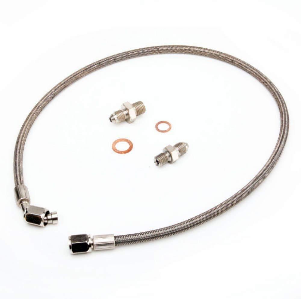 Kinugawa Turbo Oil Feed Line Kit For MAZDA 323 GTX MX-5 MIATA w// M12x1.25mm Fitting on Turbo End
