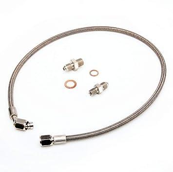 Amazon.com: Kinugawa Turbo Oil Feed Line Kit For MAZDA 323 GTX MX-5 MIATA w/ M12x1.25mm Fitting on Turbo End: Automotive