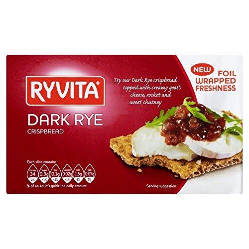 Ryvita Dark Rye Crispbread (250g) - Pack of 6