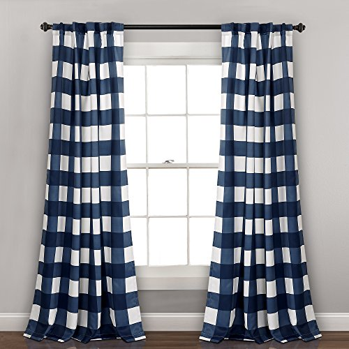 Lush Decor Room Darkening Window Curtain Panel, 84