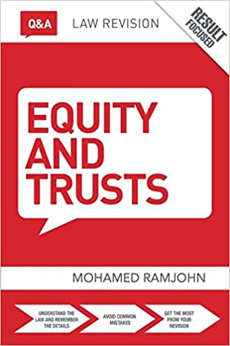 equity and trusts problem question answers