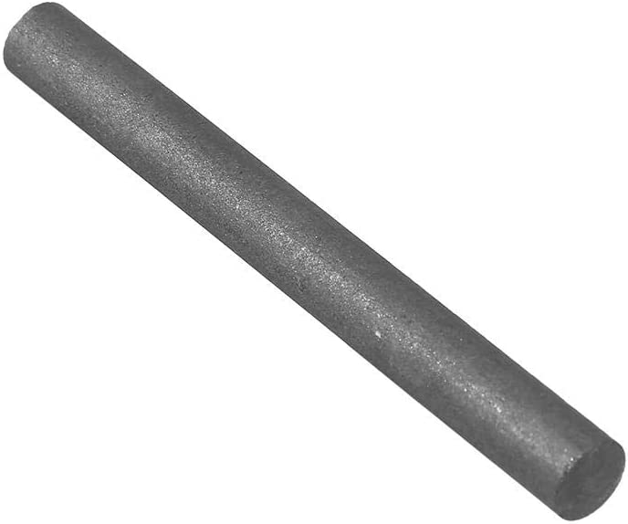 Chemical Industry and Light Industry 5Pc Graphite Rod Length 100mm Diameter 10mm Electrode Cylinder Rod 99.9/% Carbon Graphite Rod Black for Metallurgy