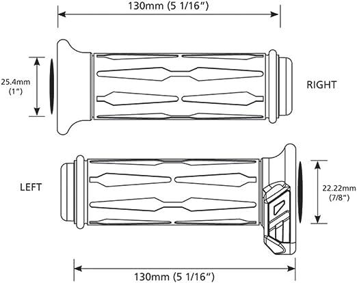 Koso Am111030 7 8 1 Apollo Heated Grips By Auto