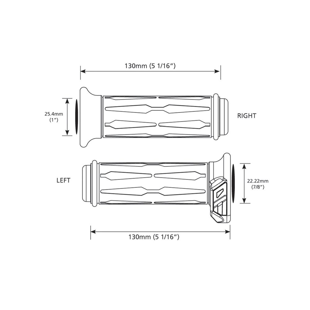 Koso Am111030 7 8 1 Apollo Heated Grips Automotive Harley Wiring Diagram 2014