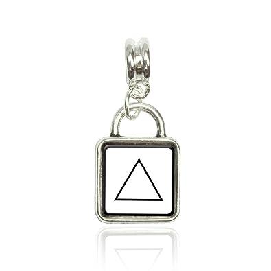 Amazon Alchemy Fire Symbol Euro European Italian Style Bracelet