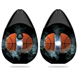 MightySkins Skin for Suorin Drop - Basketball Orb | Protective, Durable, and Unique Vinyl Decal wrap Cover | Easy to Apply, Remove, and Change Styles | Made in The USA