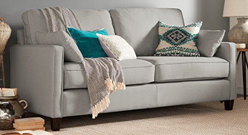 Serta Nina Sofa, Chenille Fabric, Gray Basic Info