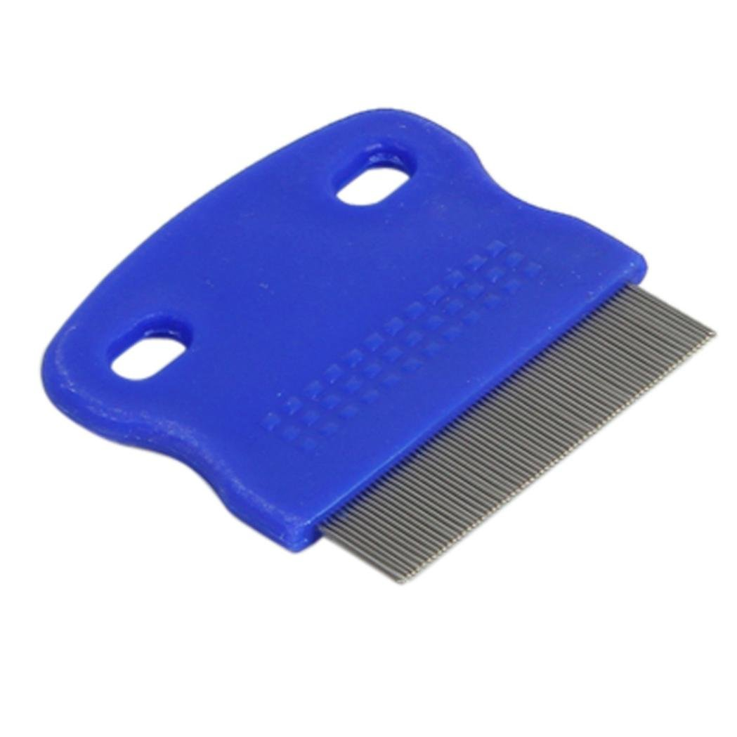 Xiaosan Terminator Lice Comb Brushes Hair Rid Headlice Stainless Steel Metal Teet (A) by Xiaosan (Image #3)