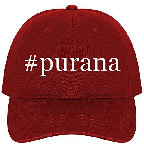 - #Purana - A Nice Comfortable Adjustable Hashtag Dad Hat Cap, Red
