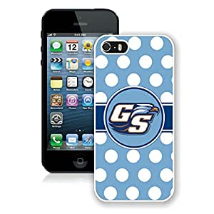 100% brand new Sun Belt Conference Football Georgia Southern Eagles 11 White iPhone 5 5S Case