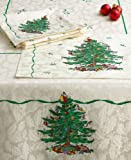 Spode Christmas Tree Cloth Napkins Set of 4
