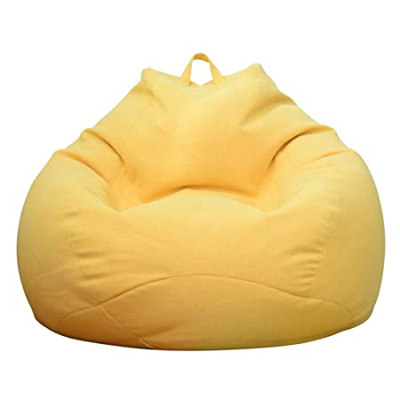 Superb Pure Cotton Bean Bag Chair Portable Ultra Soft Lazy Sofa Alphanode Cool Chair Designs And Ideas Alphanodeonline