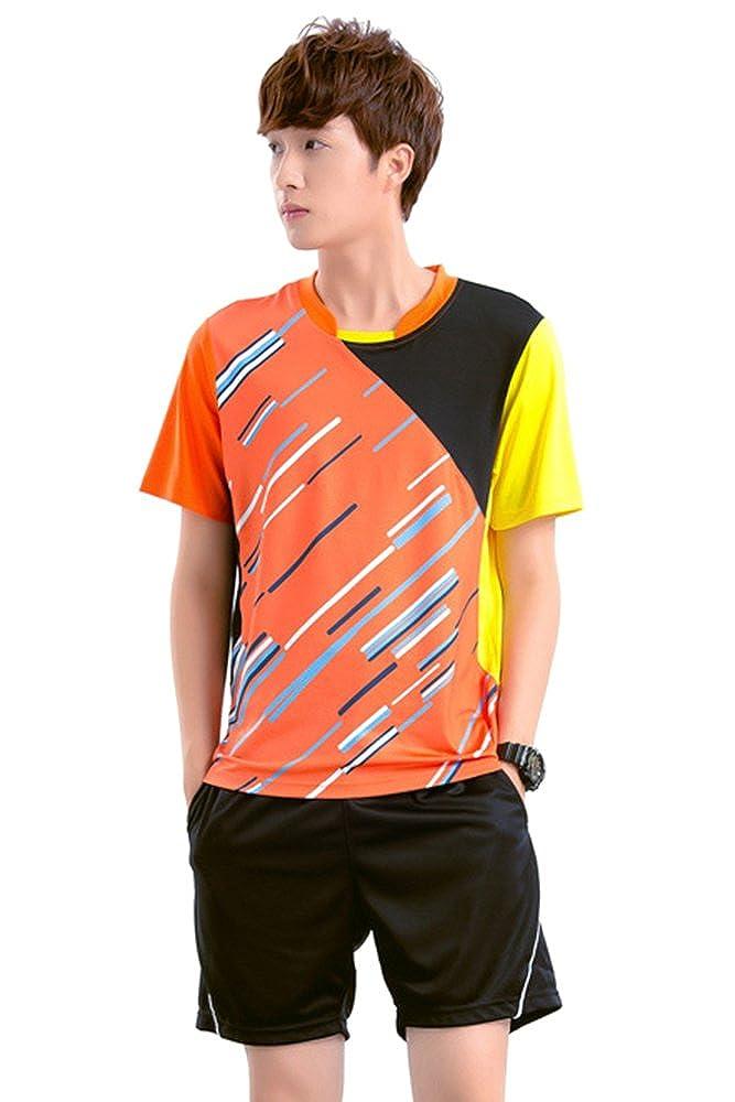 BOZEVON Badminton Uniforms Set Clothing Sportswear 2 PCS
