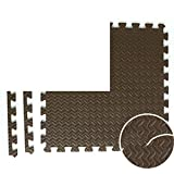 NRQU Door mat,Gate pad,Thicken,[child],Bubble pad,Mosaic crawl mat,Bedroom non-slip floor mat-D 60x60x2.5cm(24x24x1inch)