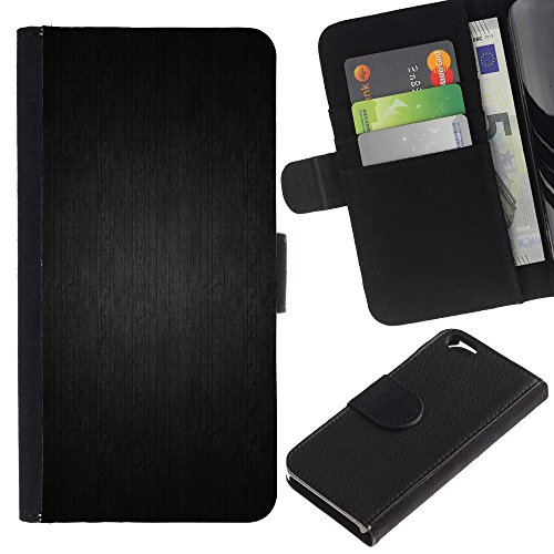 Funny Phone Case // Cuir Portefeuille Housse de protection Étui Leather Wallet Protective Case pour Apple Iphone 6 / Muster/