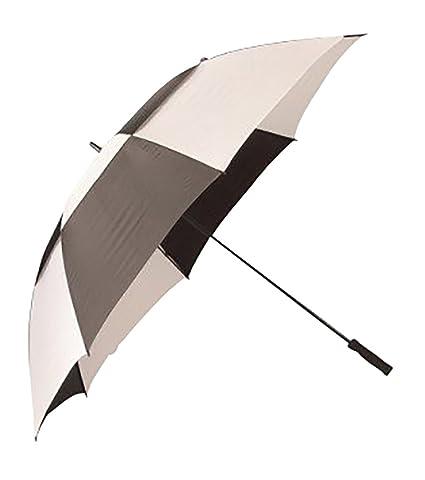 Para una vista más grande haga clic en la imagen Paraguas XXL 120 cm blanco negro