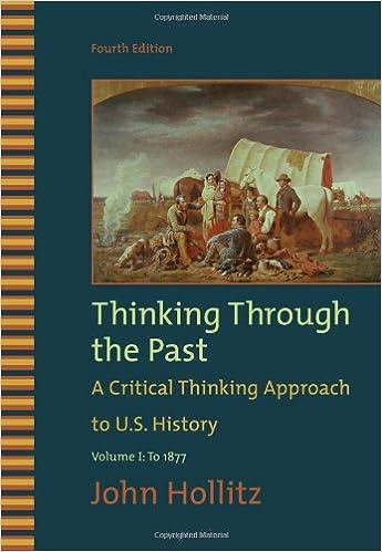 Amazon 1 thinking through the past volume i 9780495799917 1 thinking through the past volume i 4th edition fandeluxe Images