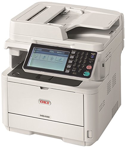 Oki Data MB492 Monochrome MFP Printer with Scanner, Copier and Fax - Okidata Input Trays