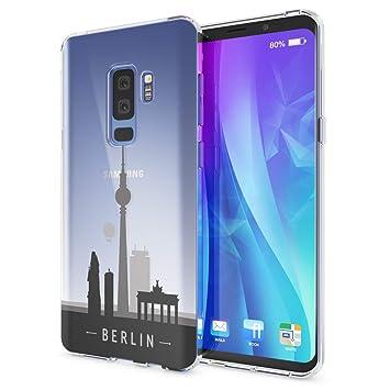 NALIA Funda Carcasa Compatible con Samsung Galaxy S9 Plus, Motivo Design Movil Protectora Ultra-Fina Silicona Cubierta Goma Gel Estuche Telefono ...