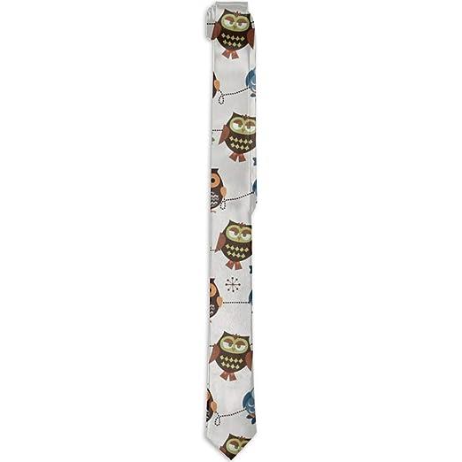 f51e07520d Gentleman Tie - Cute Owl Patterns Necktie