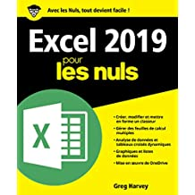 Excel 2019 pour les Nuls (French Edition)