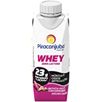 Piracanjuba Whey Zero Lactose Batata-Doce com Gengibre 250ml