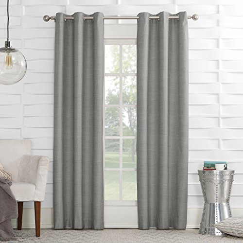 Sun Zero Caleb Thermal Lined Curtain Panel
