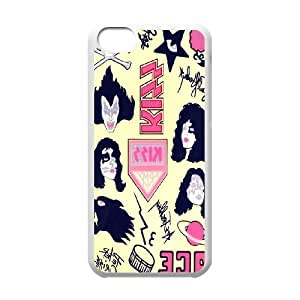 kiss rock punk band Phone Case For Iphone 5c TPUKO-Q801679