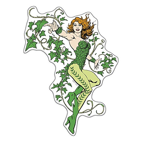Fan Emblems Poison Ivy Batman Character Car Decal Domed/Multicolor/Clear, DC Comics Automotive Emblem Sticker Applies Easily to Cars, Trucks, Motorcycles, Laptops, Windows, Almost Anything]()